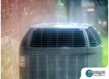 Rain & Its Effects On Your Air Conditioner